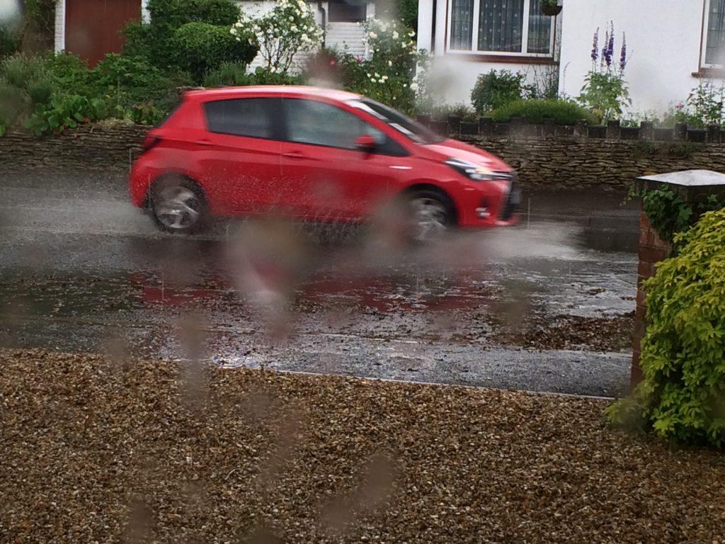 Road, Rain, Car, 365, 366