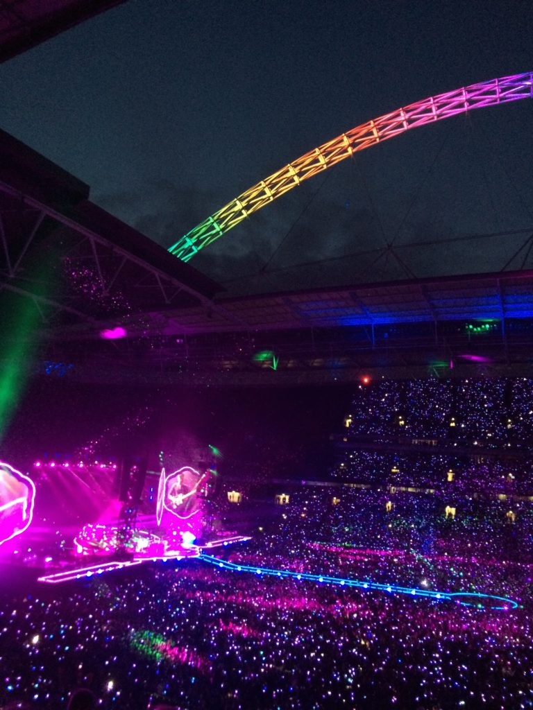 Silent Sunday, My Sunday Photo, Coldplay, Wembley