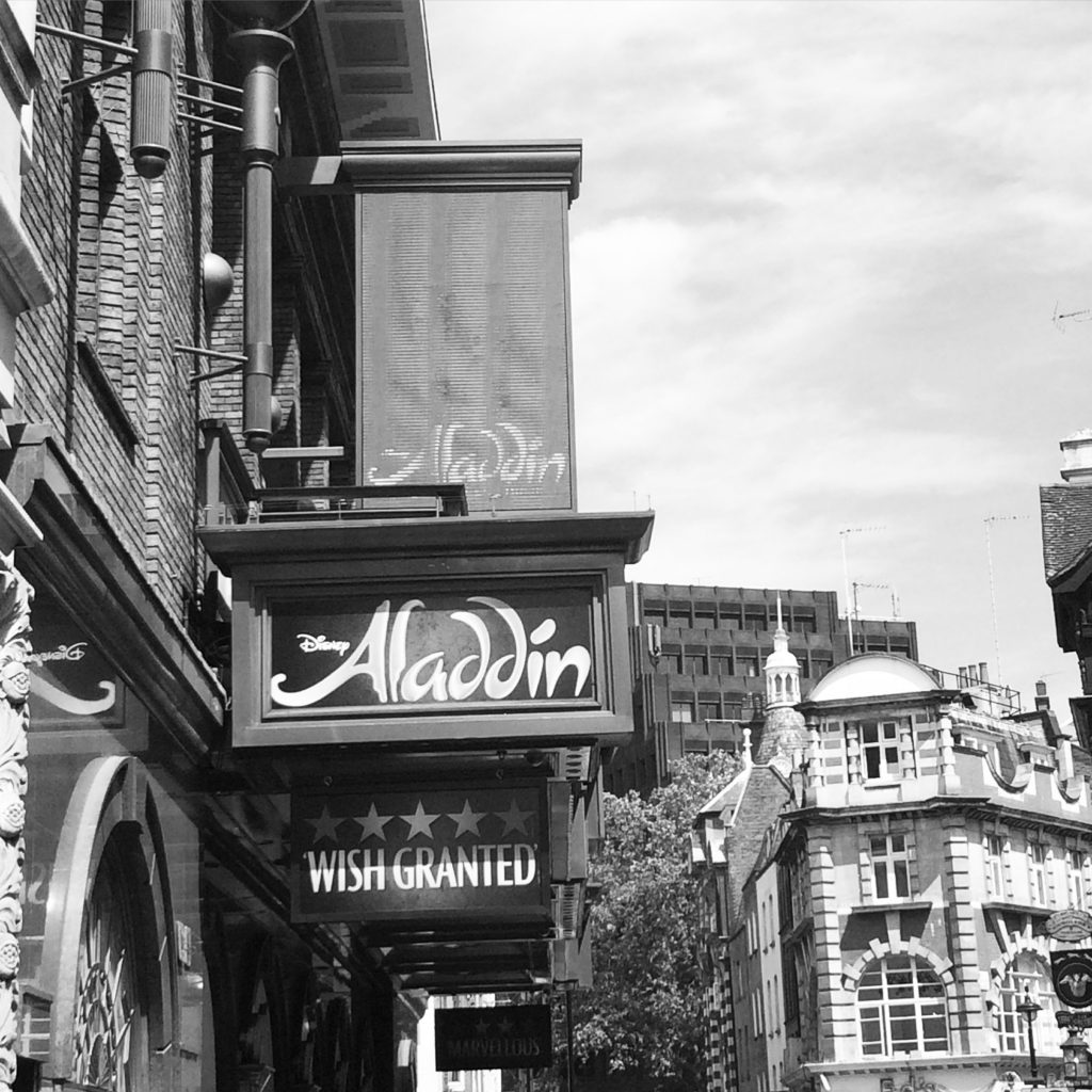 Aladdin, London, West End, Silent Sunday, My Sunday Photo