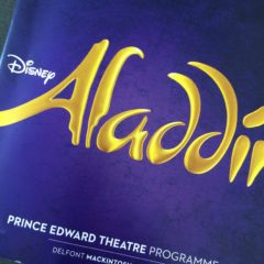 Aladdin at the Prince Edward Theatre, London