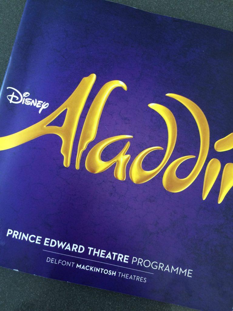 Aladdin, Musical, Disney, London