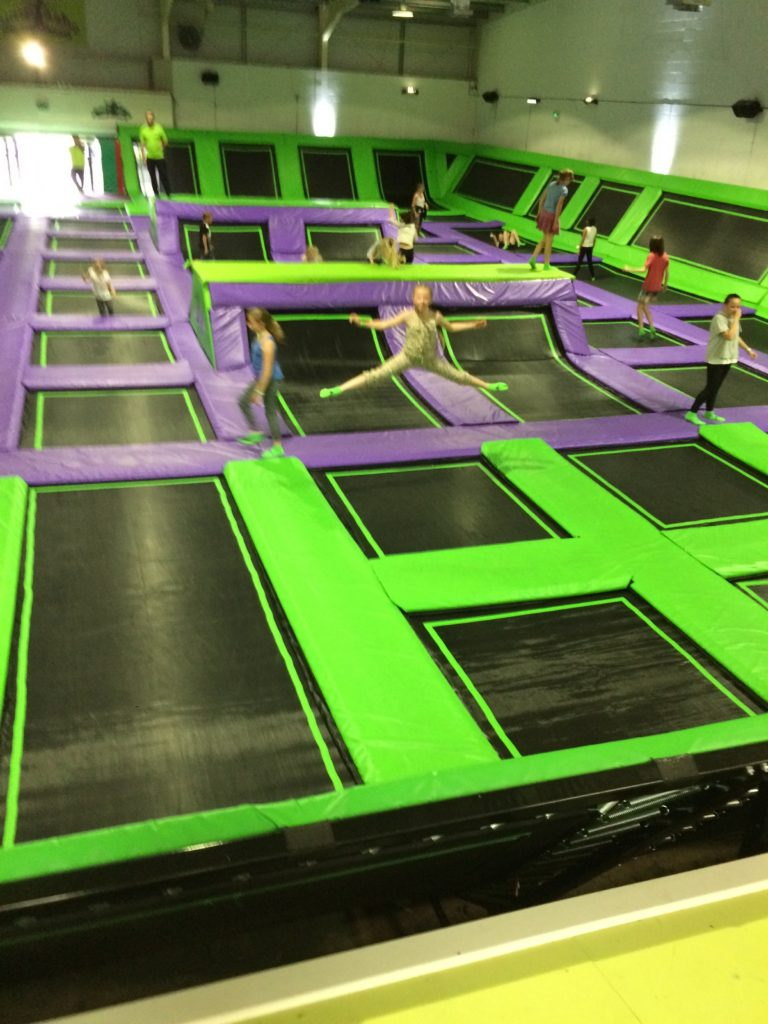 Jumptastic, Trampolining, Daughter, 365, 366