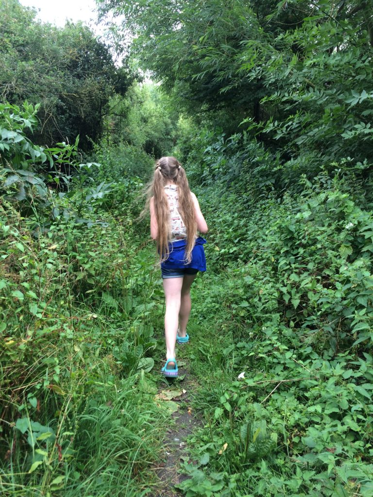 Daughter, Walking, Pokemon Go, 365, 366