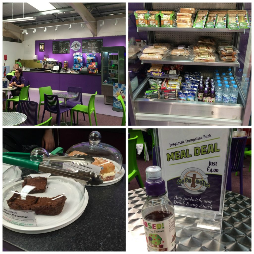 Jumptastic, Cafe, Trampolining, Gloucester, Review