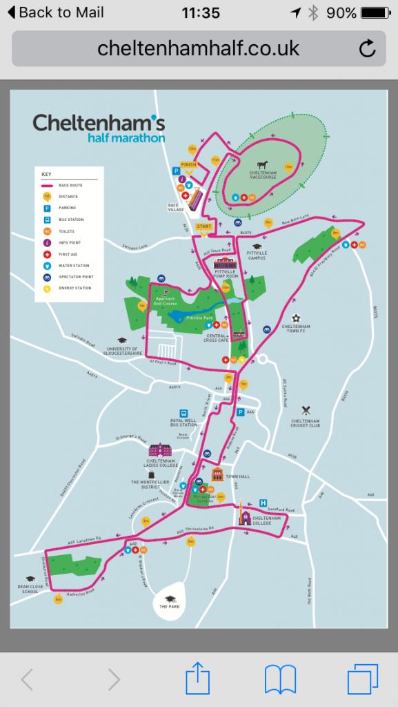 Cheltenham half marathon, Half marathon, 365, 366