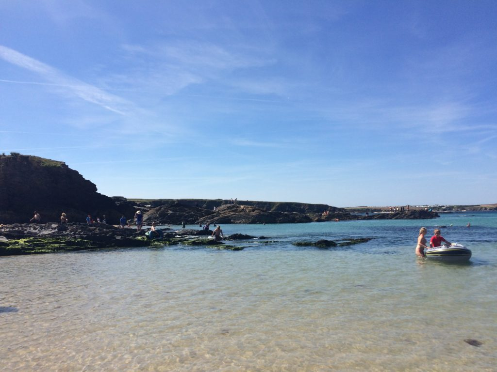 Trevone, Beach, Cornwall, Holiday