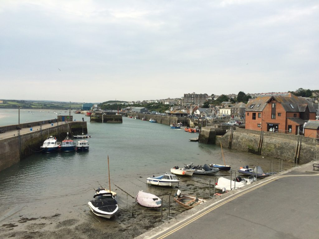 Padstow, Harbour, Boats, Cornwall, Holiday