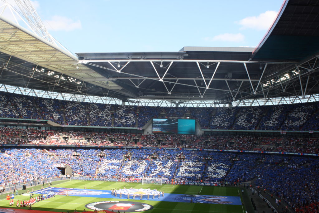 Wembley Stadium, Community Shield, Leicester City, Silent Sunday, My Sunday Photo