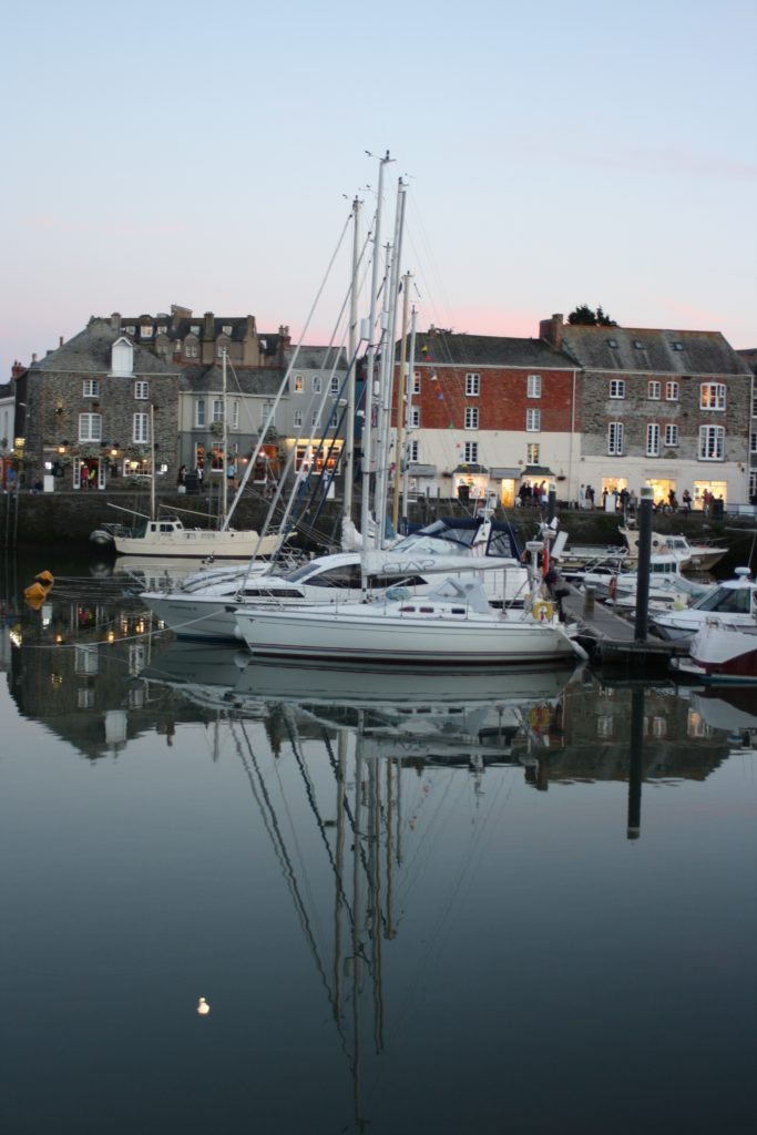 Padstow, Cornwall, Harbour, Reflection