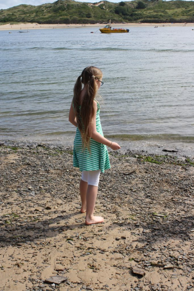 Daughter, Padstow, Cornwall, Holiday
