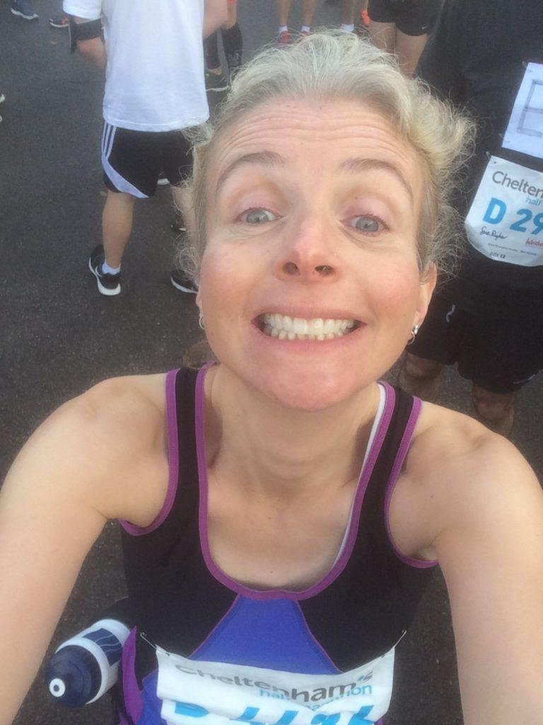 Half marathon, Selfie, Cheltenham half marathon