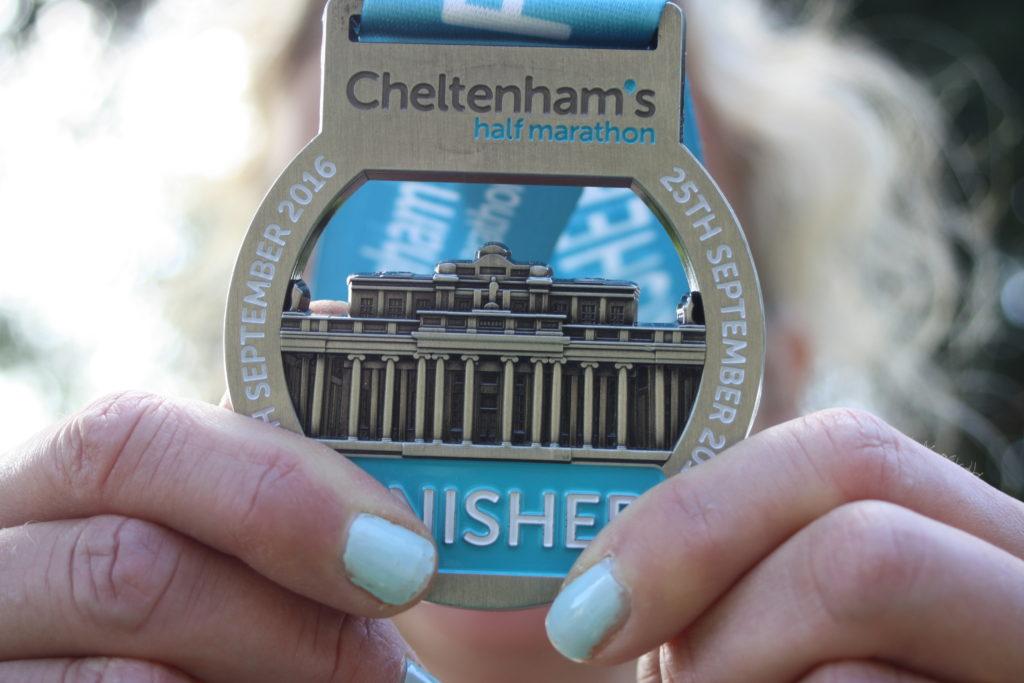 Silent Sunday, My Sunday Photo, Half marathon, Cheltenham half marathon, Medal
