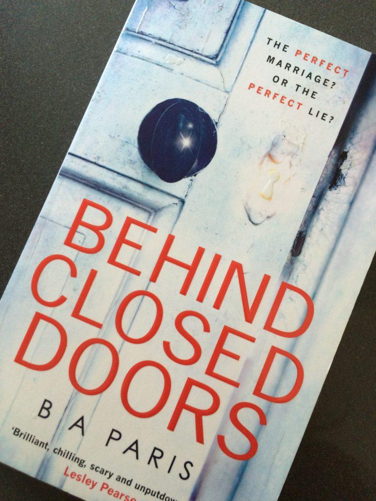 Behind Closed Doors, B A Paris, Book review, Behind Closed Doors by B A Paris