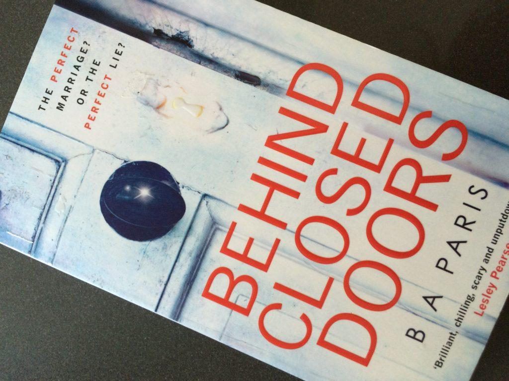 Behind Closed Doors, B A Paris, Book, Reading, 365, 366