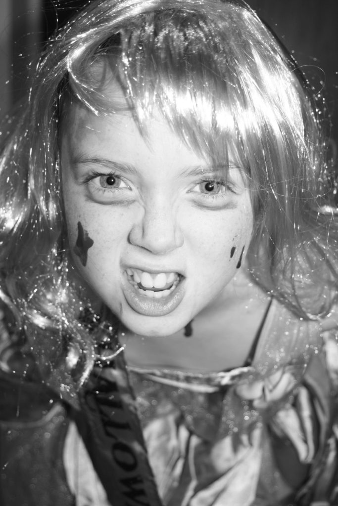 Daughter, Halloween, Silent Sunday, My Sunday Photo