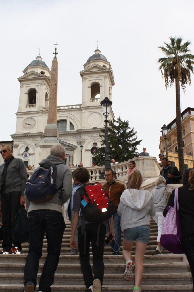 Spanish Steps, Rome, Holiday, Italy