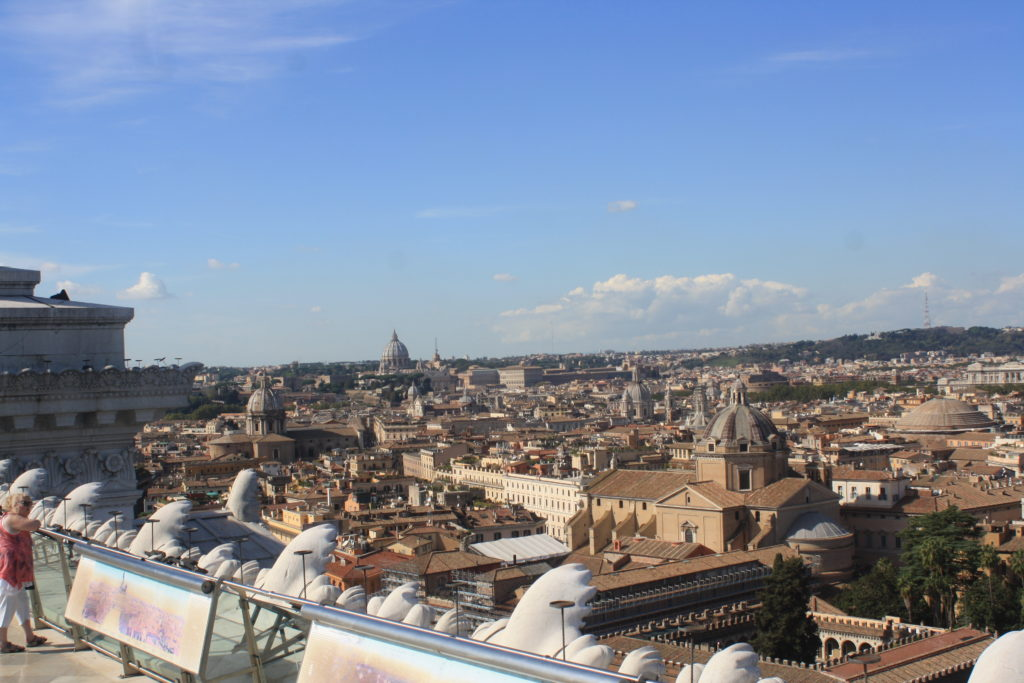 Vittoriano, Rome, Holiday, View