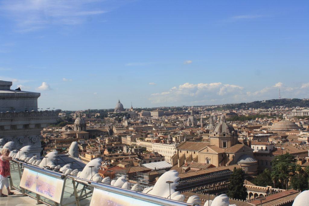 Vittoriano, Rome, Holiday, View