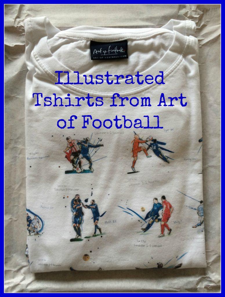 Art of Football, Art of Football review, Art of Football Tshirt