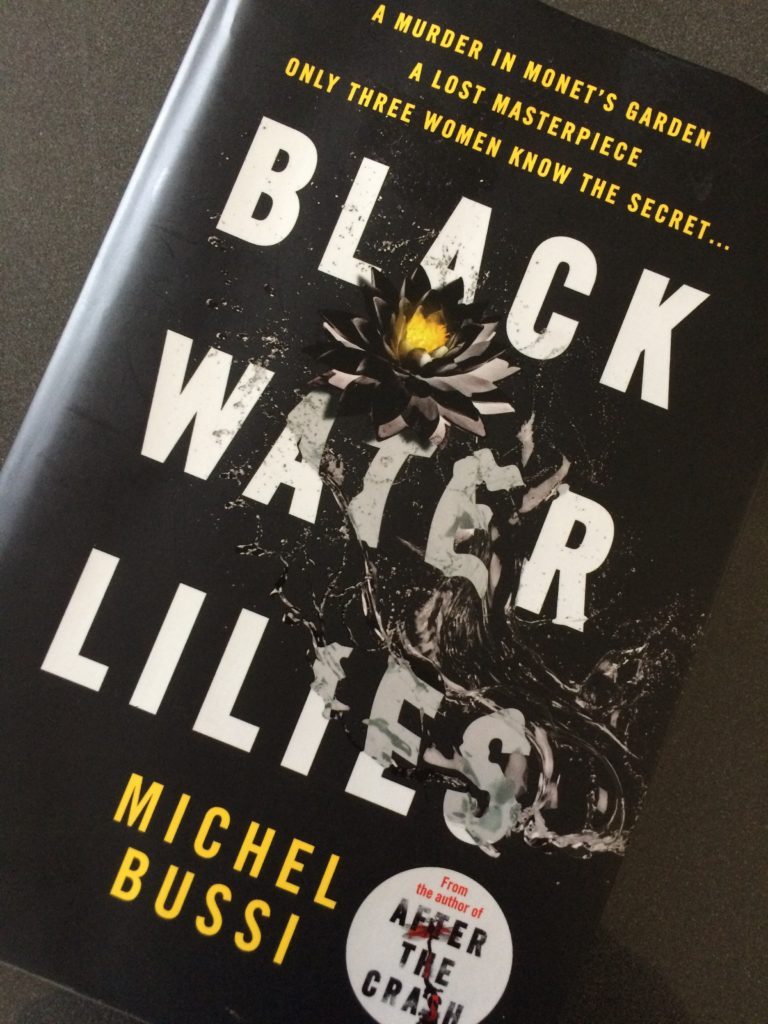 Black Water Lilies, Michel Bussi, Book review, Black Water Lilies by Michel Bussi