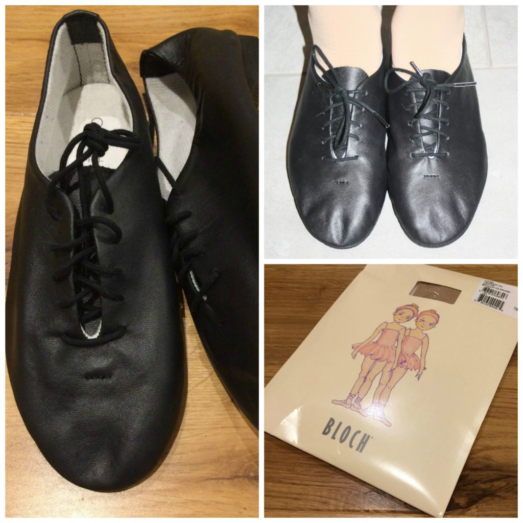 Dance Depot, Dance Depot review, Jazz shoes, Jazz shoes review, Dance tights, Panto, Daughter