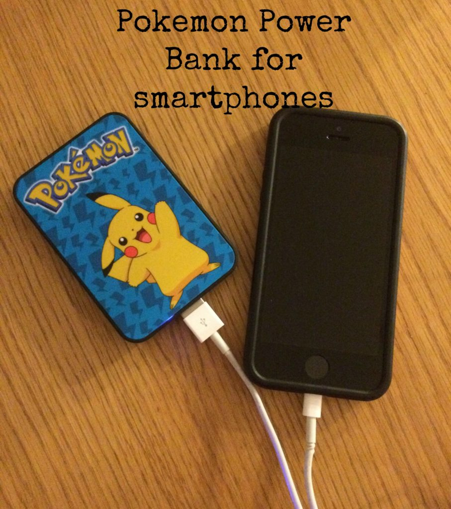 Pokemon Power Bank, Pokemon charger, Review, Pokemon Power Bank review
