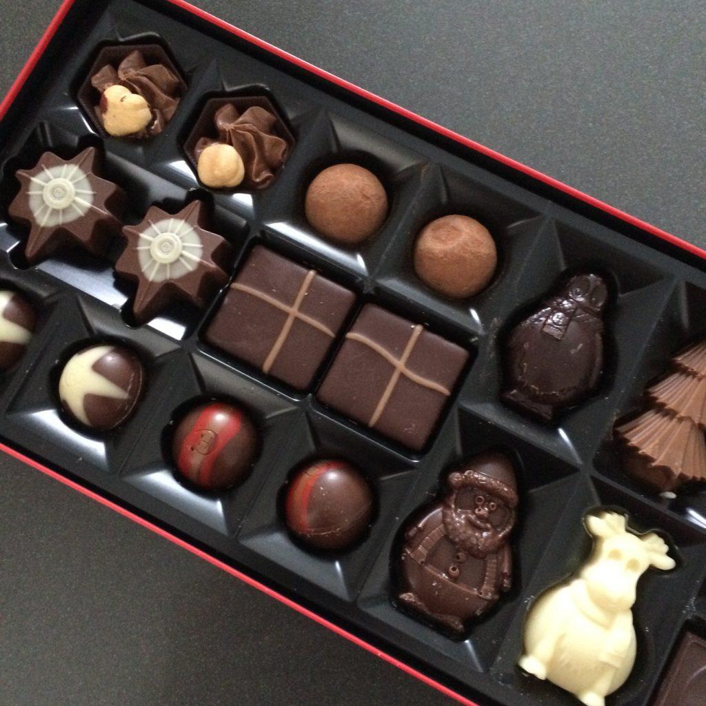 Christmas chocolates, 365, 366, Work