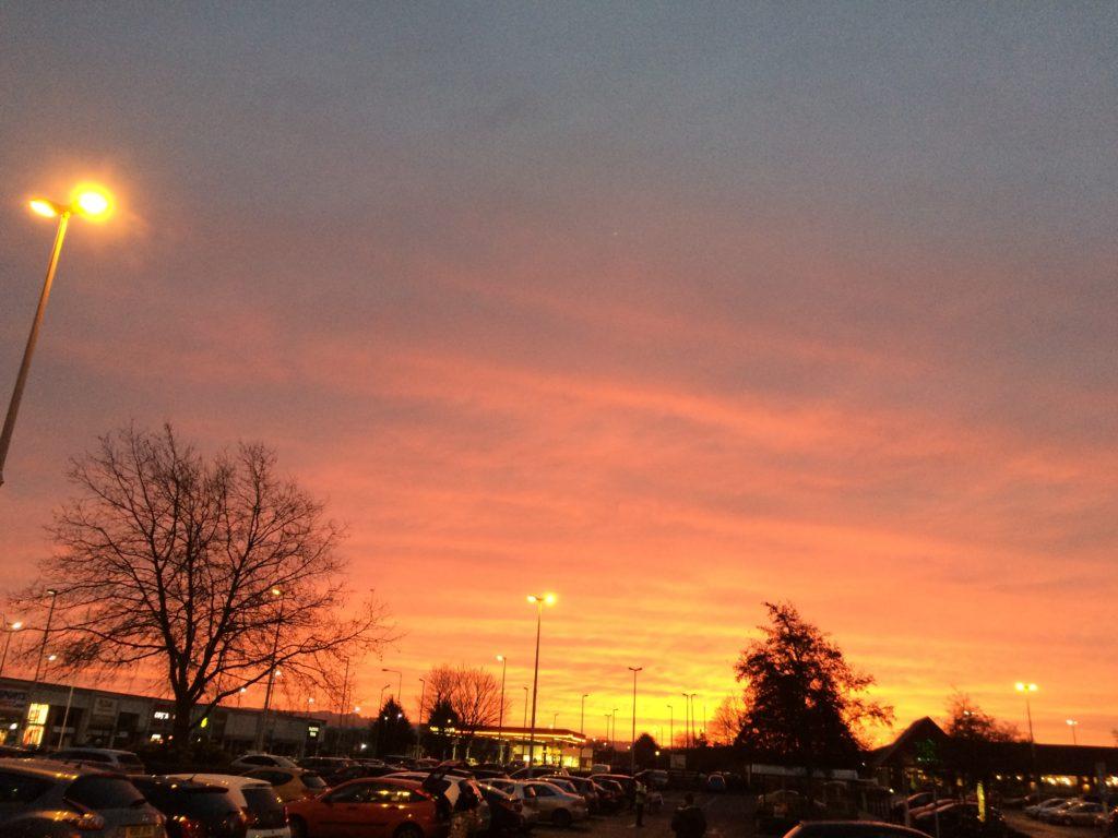 Sunrise, Sky, 365, 366