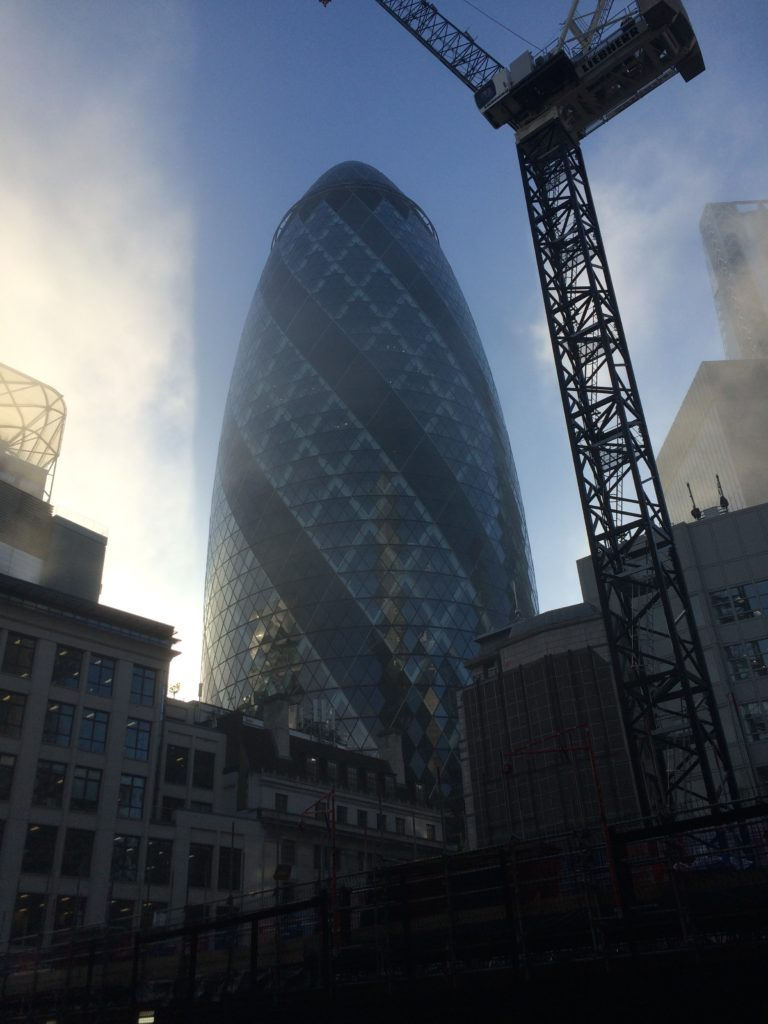 Gherkin, London, Days out