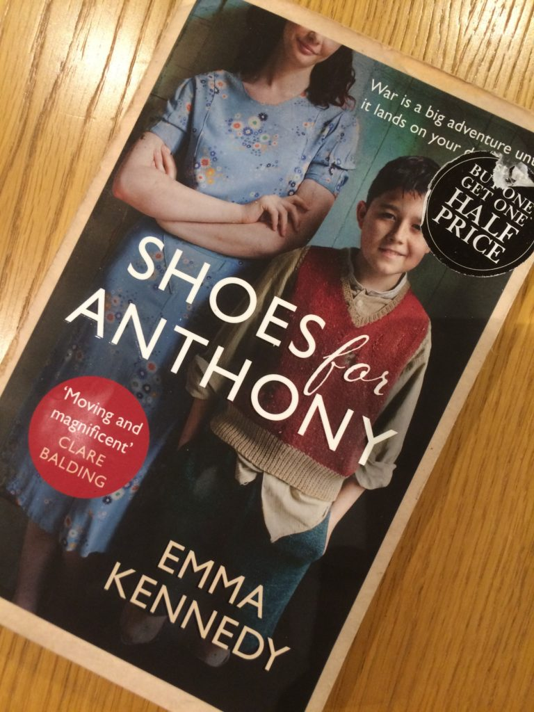 Shoes for Anthony, Book review, Emma Kennedy, Shoes for Anthony by Emma Kennedy