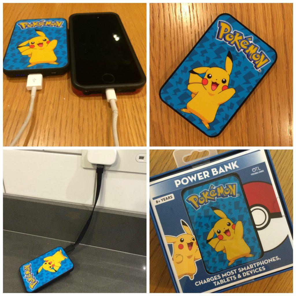 Pokemon Power Bank, Pokemon Power Bank review, Pokemon charger, Pokemon Go, Review