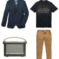 Menswear wardrobe overhaul