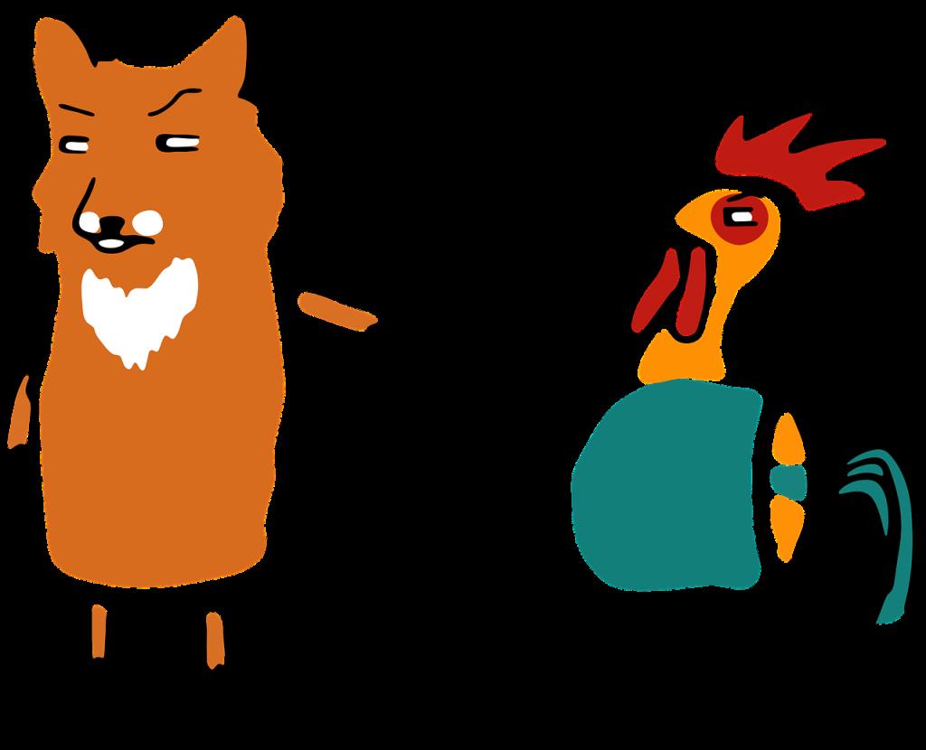 Fox, Chicken, Kids, Parenting, Teenagers