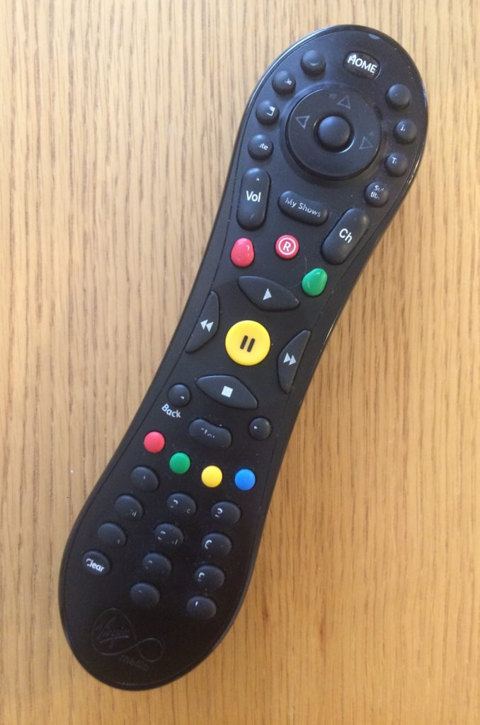 Remote control, TV, Television