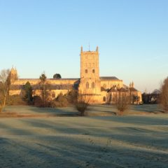 Icy morning and Parkrun tourism