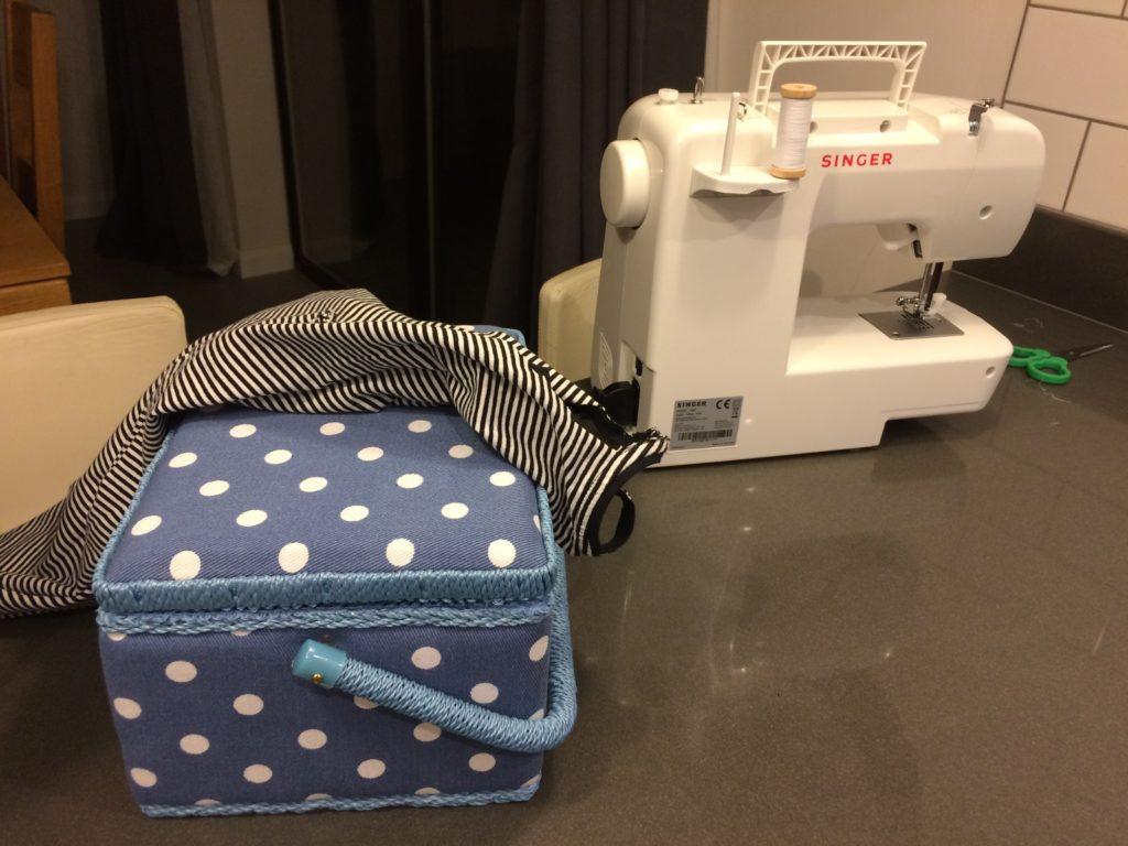 Daughter, Sewing machine, Hobby, 365