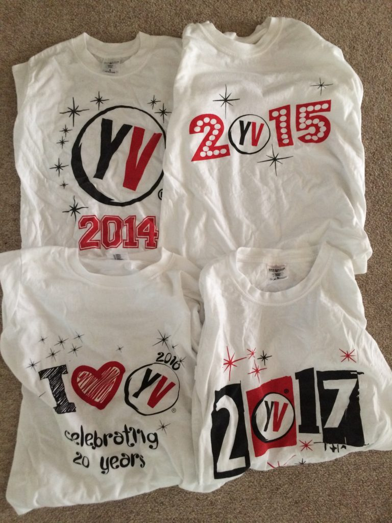 Young Voices, Young Voices Tshirts