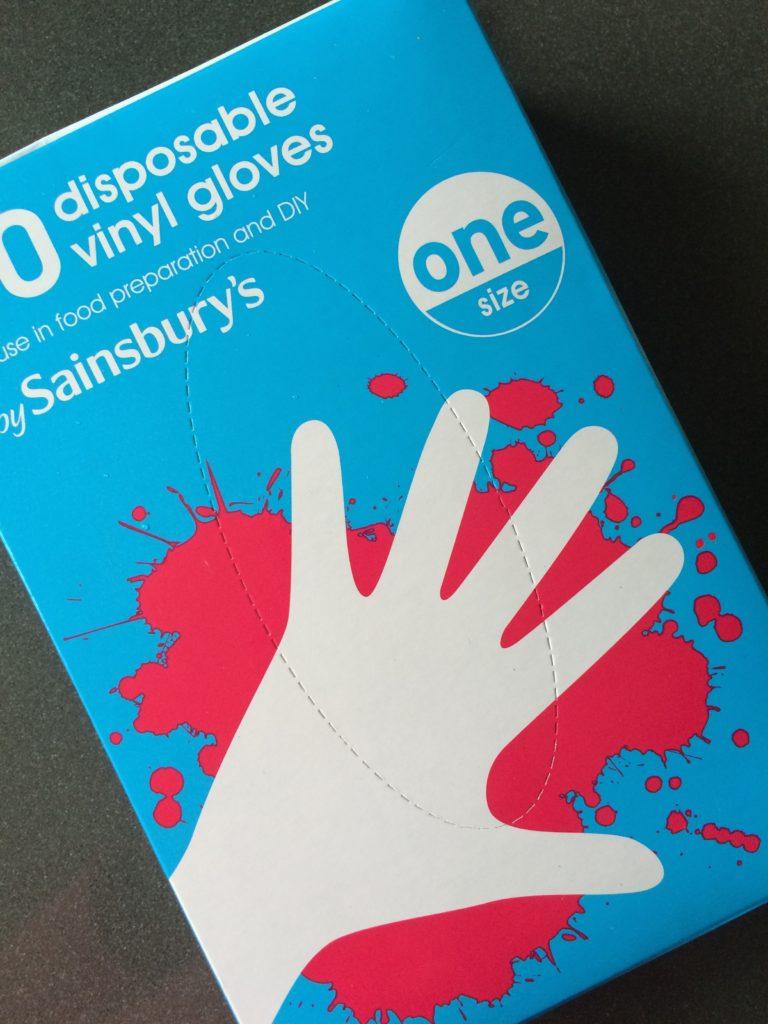 Vinyl gloves, 365, Eczema