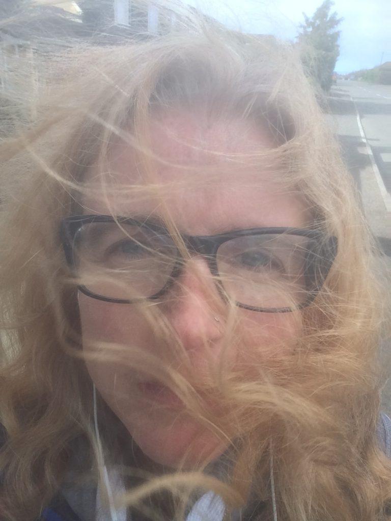 Selfie, Storm Doris, 365