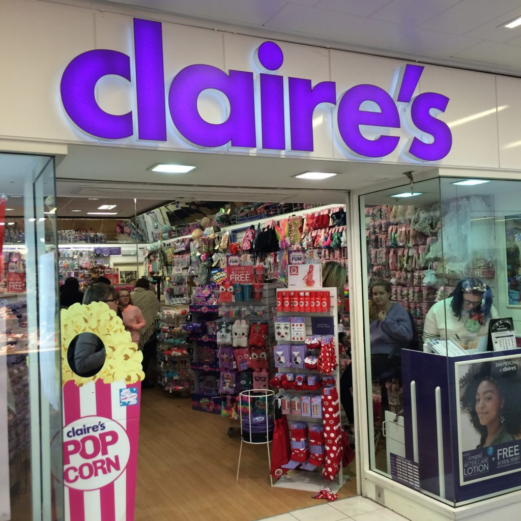 Claire's, Shopping, Daughter, Girls