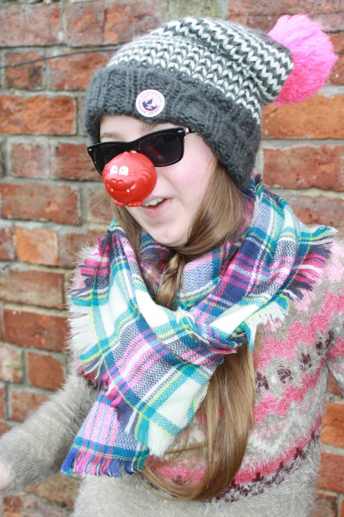 Daughter, Comic Relief, Red Nose Day, 365