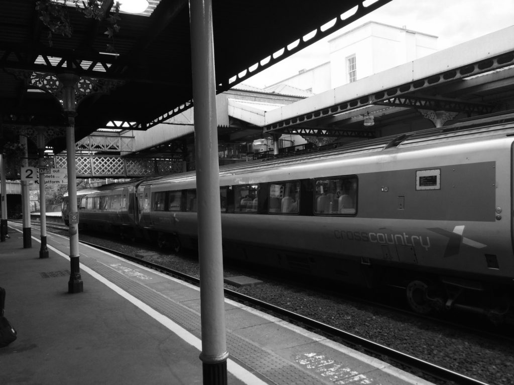 Silent Sunday, My Sunday Photo, Railway station, Train