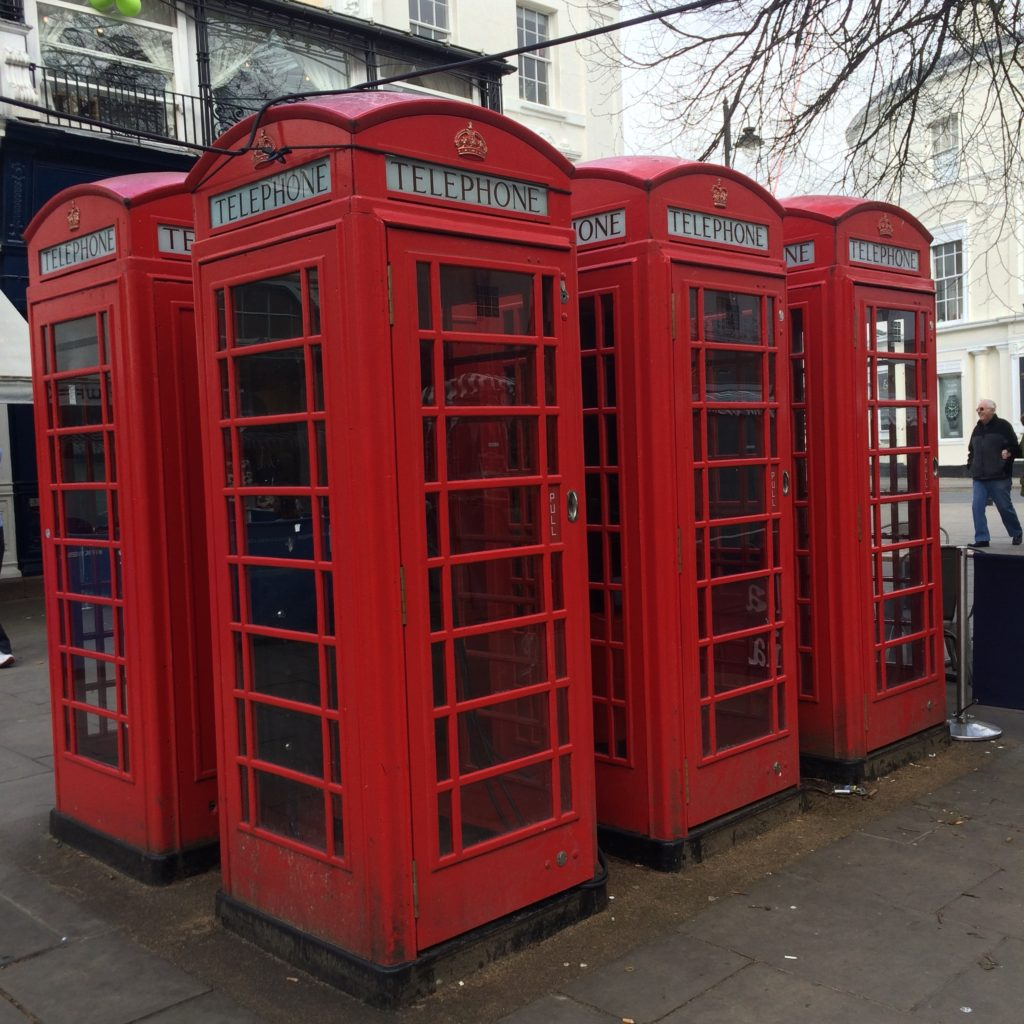 Phone boxes, Cheltenham, 365