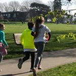 Daughter's first solo Parkrun