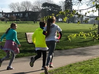 Parkrun, Daughter, Running, Friends