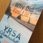 Why Did You Lie? by Yrsa Sigurdadottir