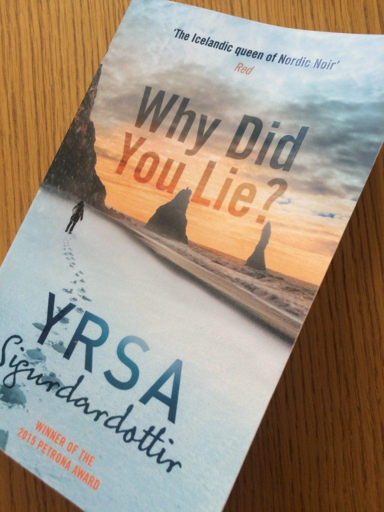 Why Did You Lie?, Book review, Yrsa Sigurdadottir