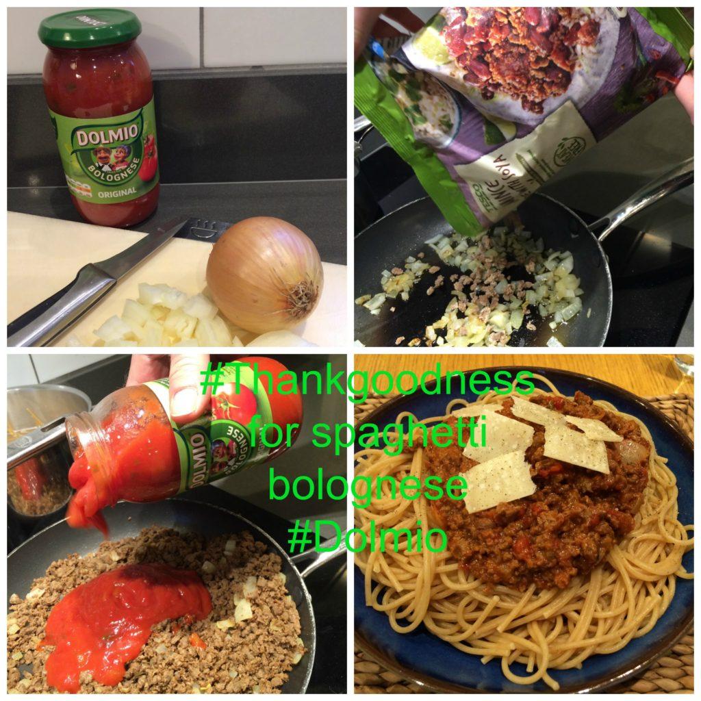 Spaghetti bolognese, Dolmio, Dolmio review