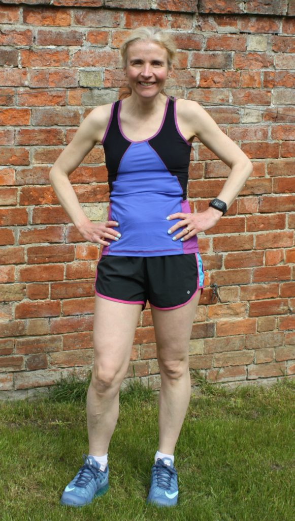 Running, My running wardrobe, Running shorts, Running vest, Trainers