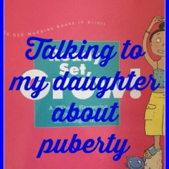 Talking to my daughter about puberty